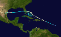 1933 Atlantic hurricane 5 track.png