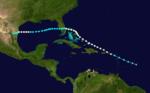 1933 Atlantika uragano 5 track.png