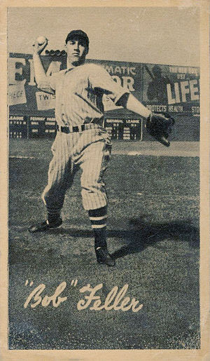 Bob Feller - 1936 Goudey Bob Feller