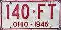 1946 Ohio license plate.JPG