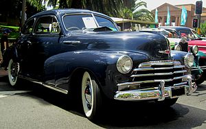 Chevrolet Fleetmaster - 1947 Chevrolet Fleetmaster Sport Coupe