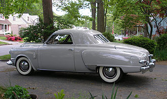 Regal Deluxe Business Coupe 1947 Studebaker Commander business coupe side crop.jpg