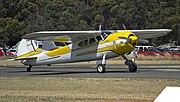 1953 Cessna 195B (VH-VLD) on Runway 36 at Temora Airport