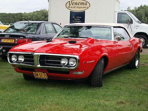 1968 Pontiac Firebird 400, Dutch licence registration DM-57-71 p1