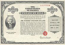 United States Treasury security - Wikipedia