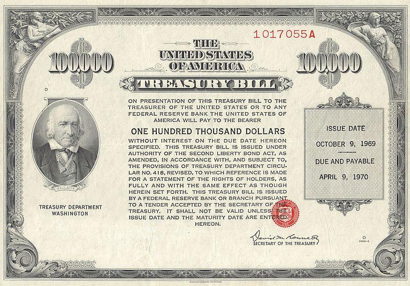 1969 $100K Treasury Bill (front).jpg