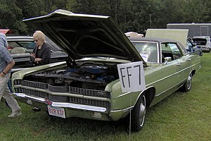 Ford LTD (Americas) - 1969 Ford LTD 4-Door Hardtop