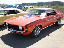 Chevrolet Camaro (first generation) - Wikipedia