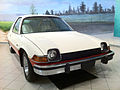 1975 AACA AMC Pacer X red-white fview.jpg