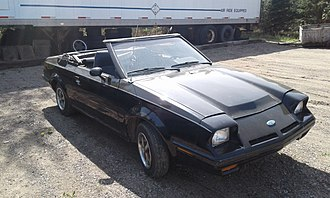 Ford EXP - 1982 Ford EXP Convertible Number 2