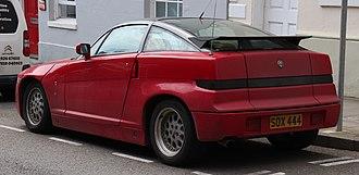 Alfa Romeo SZ - Image: 1990 Alfa Romeo SZ 3.0 Rear