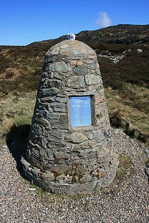 1994 Scotland RAF Chinook crash - Image: 1994 Chinook Crash Memorial