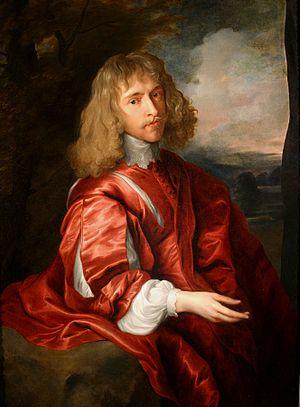 Robert Dormer, 1st Earl of Carnarvon - Robert Dormer, 1st Earl of Carnarvon, c.1630, by Anthony van Dyck