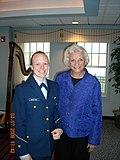 2-C Cadet Melissa McCafferty and Justice O'Connor (4478528135).jpg