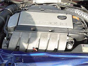 VR6 engine - A European-spec 'ABV' 2.9 litre VR6 in a Volkswagen Corrado