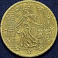 2001 Euro 50 cent (France mint) (5138478898).jpg