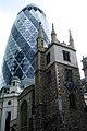 2005-04-09 - United Kingdom - England - London - 30 St Mary Axe - Swiss Re (Gherkin) 1 - Miscellaneo 4887195183.jpg