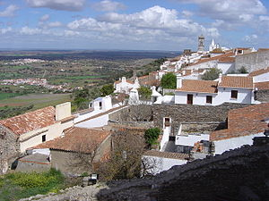 Vista de Monsaraz desde o castelo