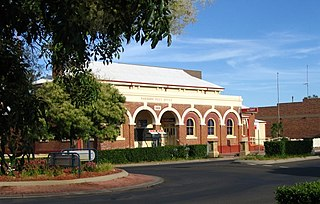 Narrabri Town in New South Wales, Australia