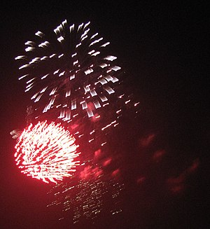 These fireworks were all photoed at a local fi...