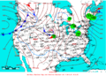 2008-11-22 Surface Weather Map NOAA.png