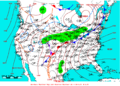 2009-04-26 Surface Weather Map NOAA.png