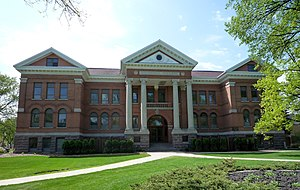 Concordia College (Moorhead, Minnesota) - Old Main, constructed in 1906, is listed on the National Register of Historic Places.