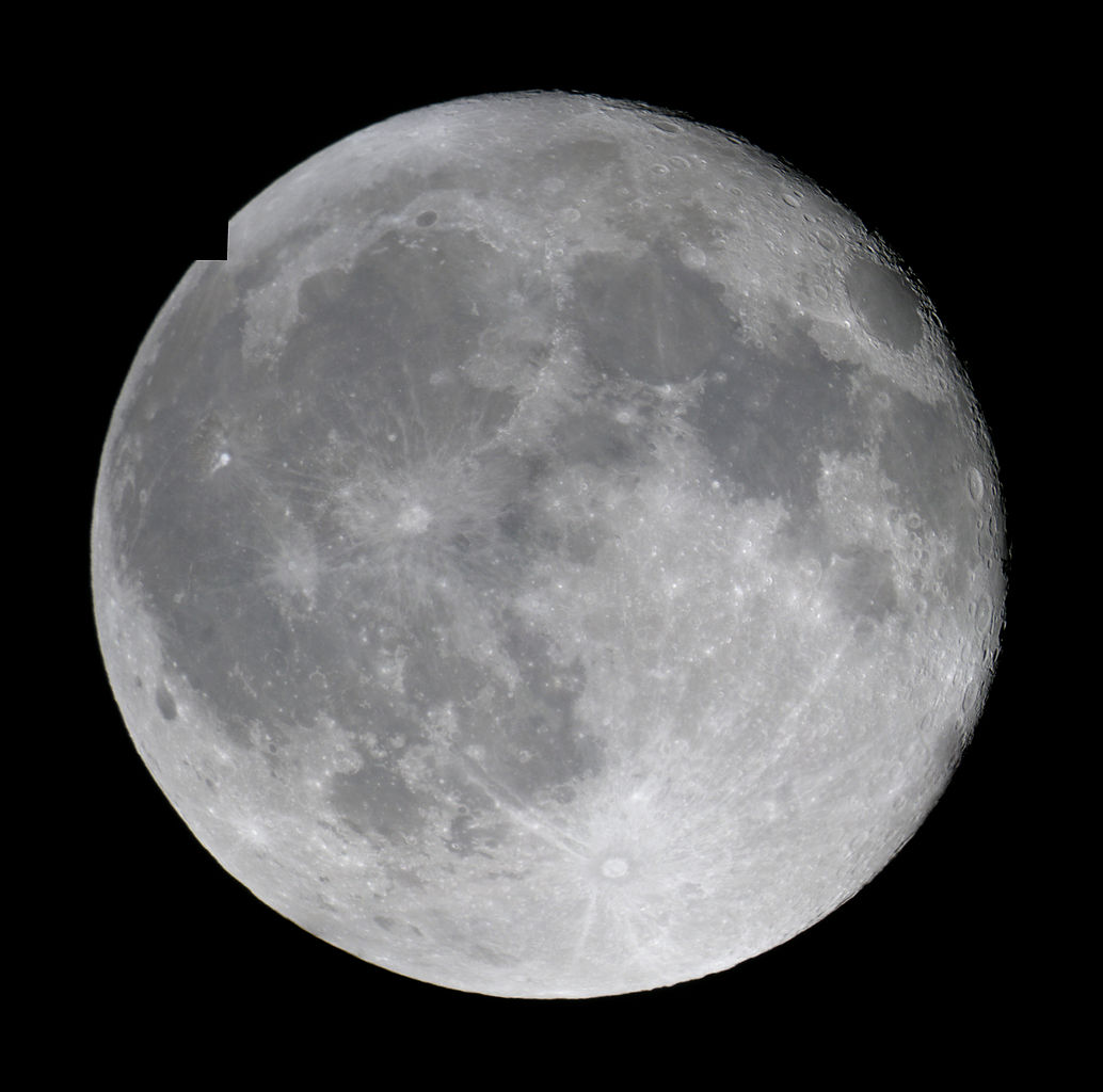 Moons Colored Gibous Greenwaxing - Pics about space Waning Gibbous Moon Phase