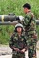 2011. 9. 육군 세계최강! 대한 육군의 주력 K1-A1전차 '불을 내뿜다' (3) (7491265456).jpg