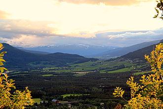 Dombås - Dombås, valey Romsdalen