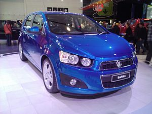 English: Front of the 2012 Holden Barina TL, p...