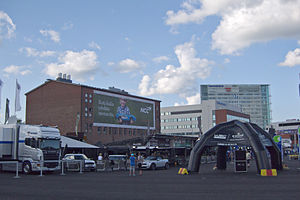 2012 Rally Finland tuesday preparations 01.jpg