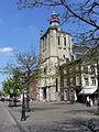 20130504 Maastricht 05 Boschstraat and Sint-Matthiaskerk.JPG