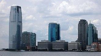 30 Hudson Street - Image: 2013 Jersey City skyline 2
