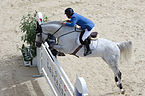 2013 Longines Global Champions - Lausanne - 14-09-2013 - Gerco Schröder et Castelino van de Helle 1.jpg