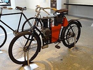 Laurin & Klement - Image: 2014 Škoda Museum, L&K motocykleta typ B 1902 01