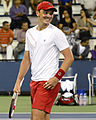 2014 US Open (Tennis) - Qualifying Rounds - Andreas Beck (15036615336).jpg