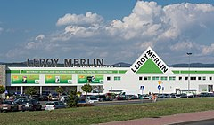 Leroy merlin wikipedia wolna encyklopedia for Casette per uccelli leroy merlin