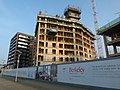 2016 Woolwich, Waterfront construction site 06.jpg