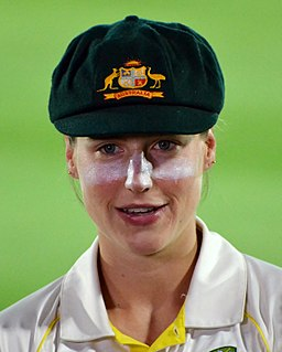 Ellyse Perry Australian cricketer and former footballer