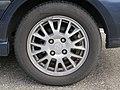 2017-09-07 (126) Michelin Energy Saver 195-60 R 15 88 H tire at Park and Ride Bahnhof Ybbs an der Donau.jpg