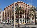 2017 Plaça del Duc de Medinaceli 4 - Passeig de Colom 20.jpg