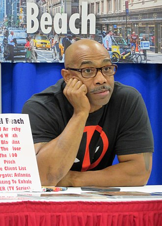 Michael Beach - Image: 2017 Wizard World Columbus Michael Beach (35628097343)