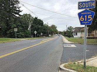 Spotswood, New Jersey - CR 615 (Main Street) in Spotswood