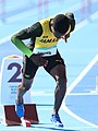 2018-10-16 Stage 2 (Boys' 400 metre hurdles) at 2018 Summer Youth Olympics by Sandro Halank–056.jpg