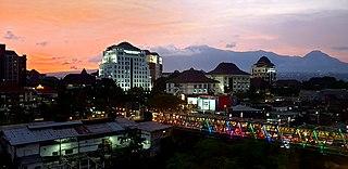 Lowokwaru District in East Java, Indonesia