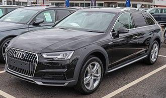 Audi allroad quattro - Image: 2018 Audi A4 Allroad Quattro Front