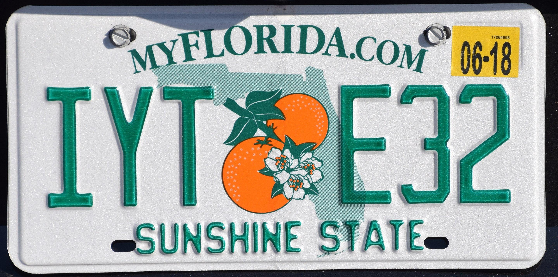 2018 Florida license plate IYT E32.jpg