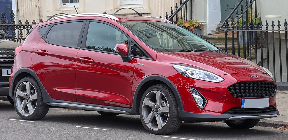2018 Ford Fiesta Active X Turbo 1.0 Front