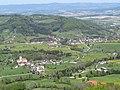 2019-04-25 (169) View from Schwabeckkreuz at Haltgraben, Frankenfels, to north, Austria.jpg